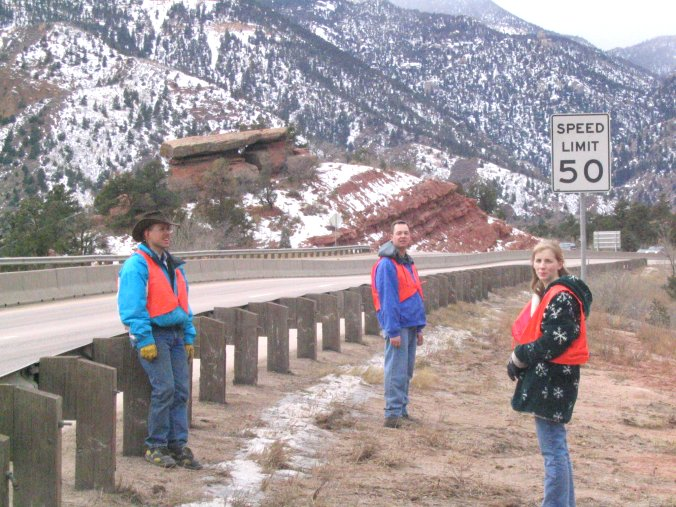 Colorado Adopt a Highway Workers