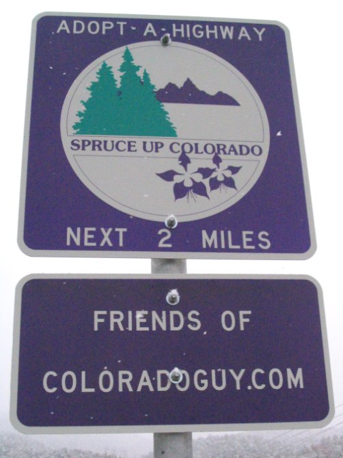 Colorado Adopt a Highway Litter Program