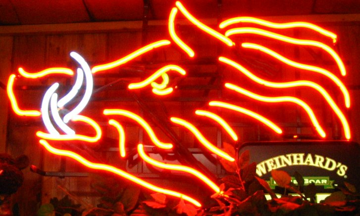 Arkansas Razorbacks Neon Sign