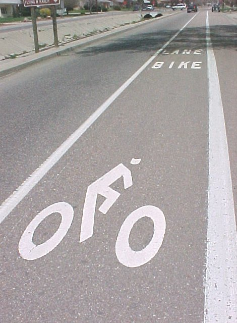 Colorado Springs Bicycle Lane
