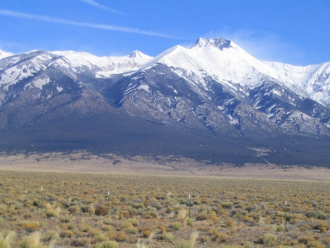 Sangre De Cristo Mountains, CO