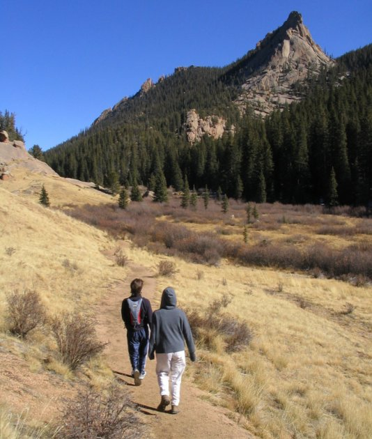 101 Of The Most Beautiful Hikes In Colorado: Crags Hiking Trail In Teller County, Colorado
