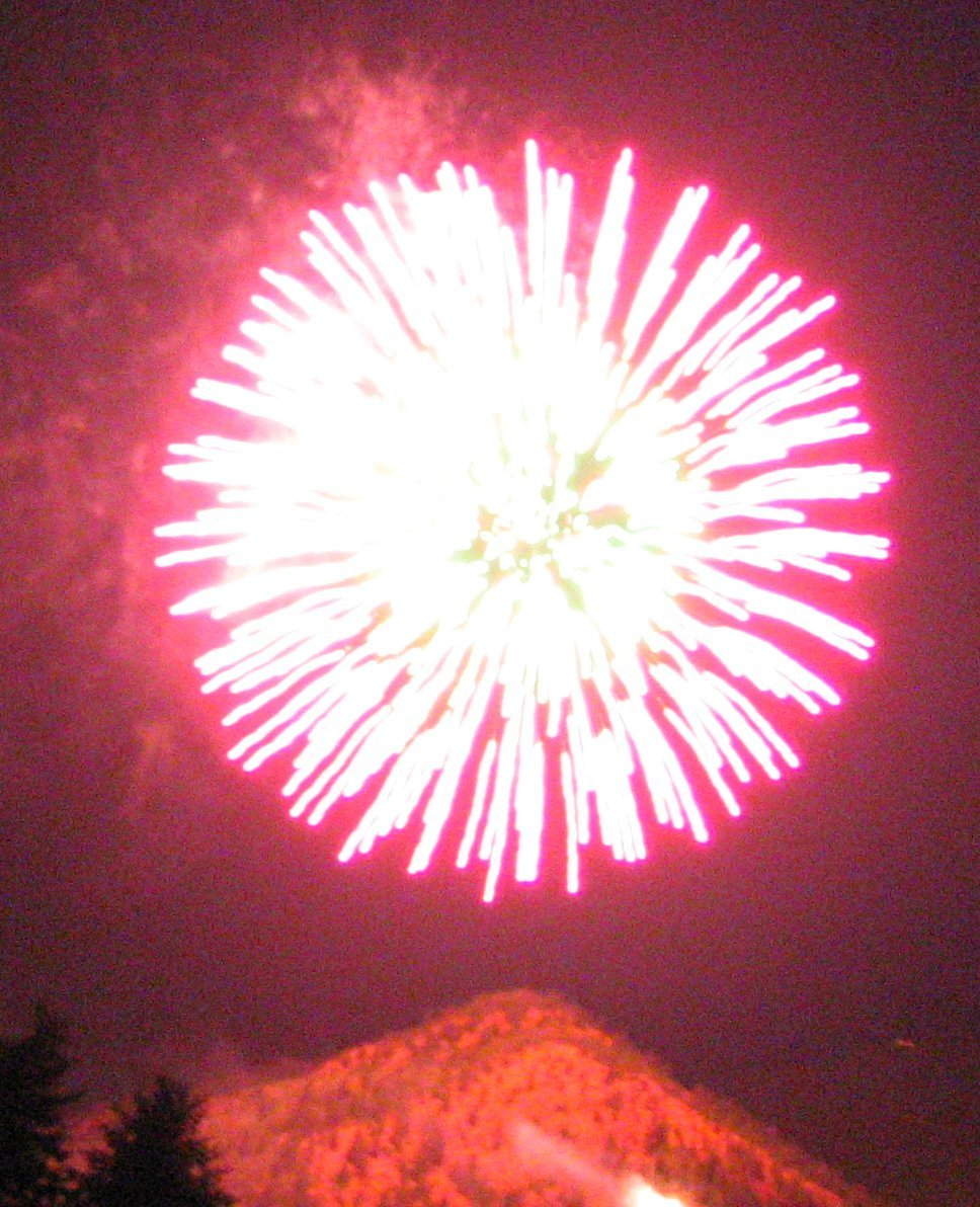 Manitou Springs Fireworks Show