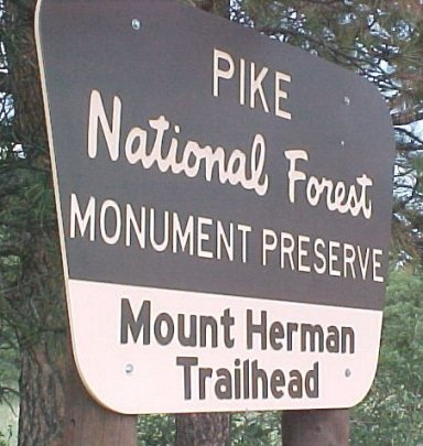 Mount Herman Trailhead Colorado