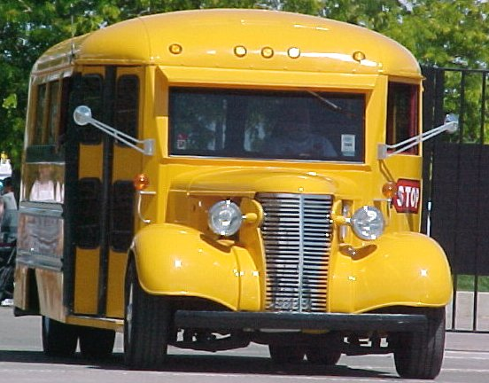 Hot Rod School Bus