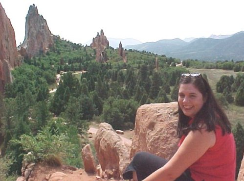 Tami in Garden of the Gods