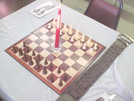 Chess Place Setting