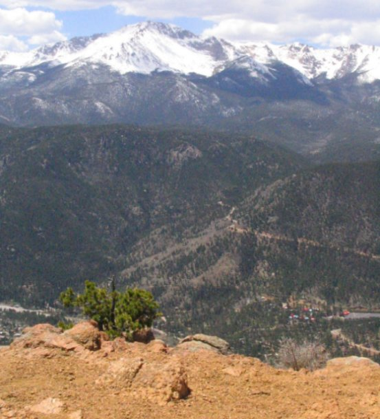 Pikes Peak In Colorado Springs: Drive From Woodland Park, CO To