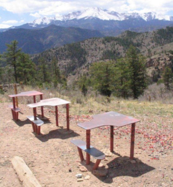 Shooting Range In Pine Colorado: Drive From Woodland Park, CO To