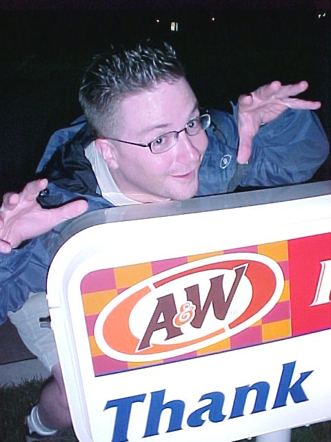 A&W Sign