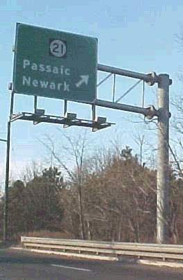 Route 21 Sign
