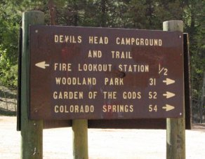 Devils Head Campground and Trail