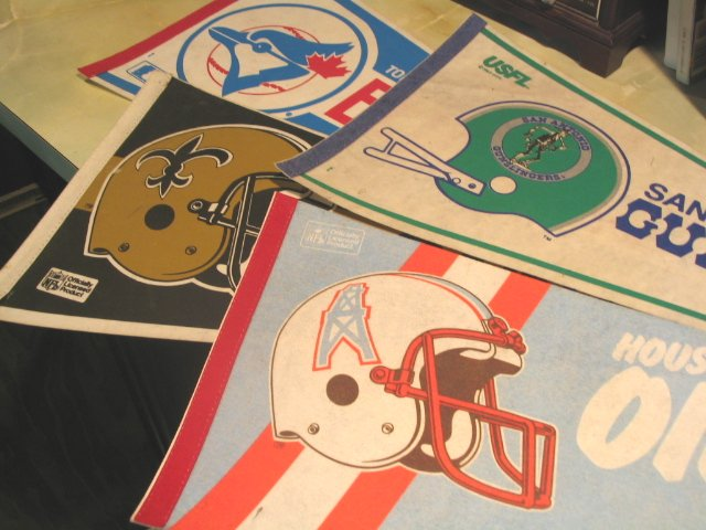 Pro Football Pennants