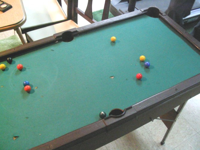 Coleco Miniature Pool Table