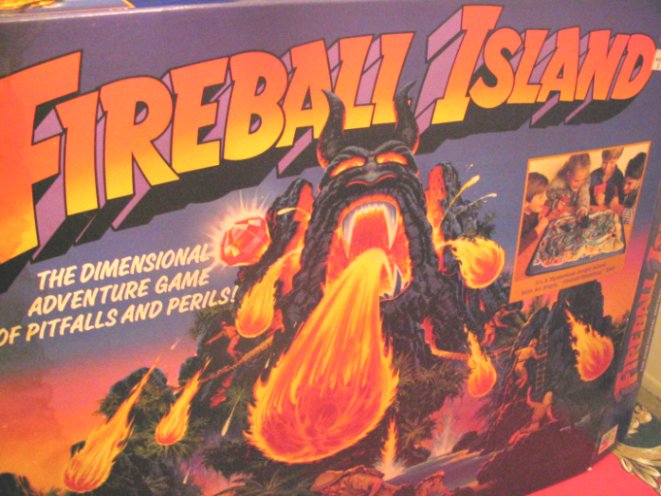 Fireball Island Game