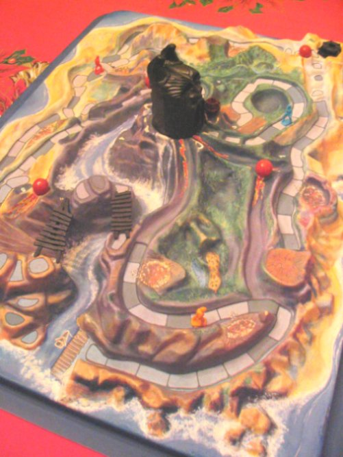 Fireball Island Board