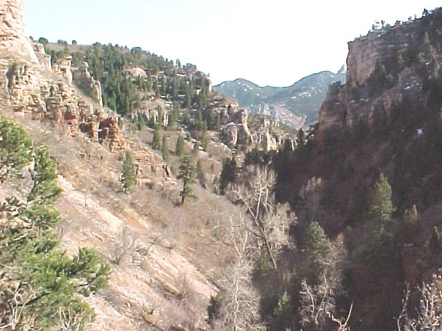 Williams Canyon Colorado